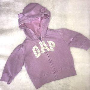 Baby GAP hoodie with ears
